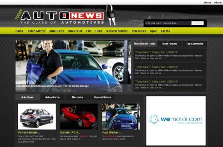 Free WordPress Theme - TodayAutoBlog